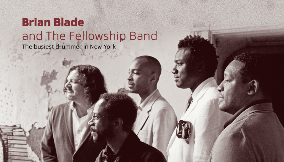 Brian-Blade and the Fellowship Band